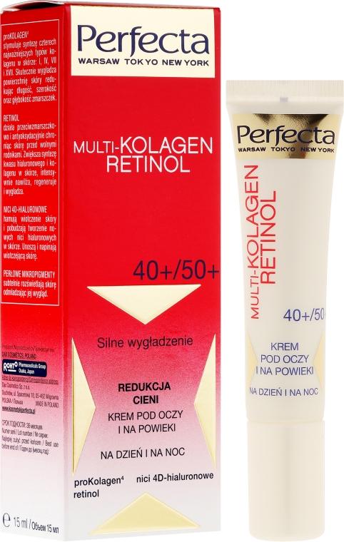 Augenkonturcreme - Dax Cosmetics Perfecta Multi-Collagen Retinol Eye Cream 40+/50+