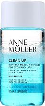 Düfte, Parfümerie und Kosmetik 2-Phasiger Make-up Entferner für Augen und Lippen - Anne Moller Waterproof Makeup Remover Eyes and Lips