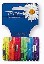 Düfte, Parfümerie und Kosmetik Haargummis Farb-Mix 12 St. 22470 - Top Choice