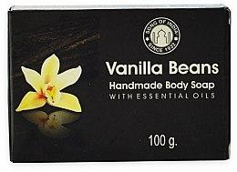 Düfte, Parfümerie und Kosmetik Handgemachte Körperseife Vanille - Song of India Soap Vanilla Beans