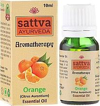 Düfte, Parfümerie und Kosmetik Ätherisches Orangenöl - Sattva Ayurveda Orange Essential Oil