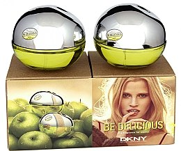 Düfte, Parfümerie und Kosmetik DKNY Be Delicious - Duftset (Eau de Parfum/30ml + Eau de Parfum/30ml)
