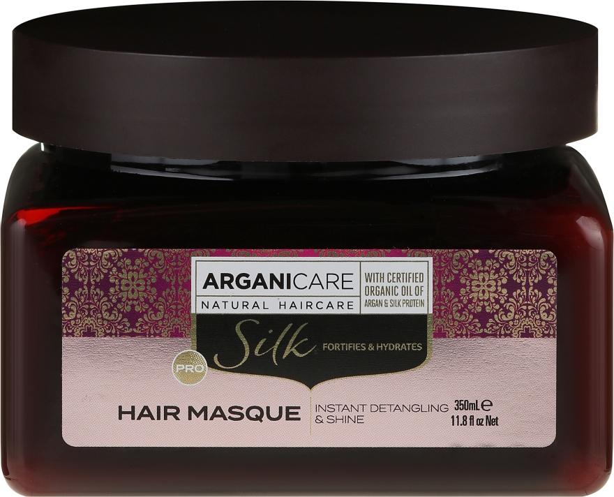 Haarmaske mit Seidenproteinen - Arganicare Silk Hair Masque