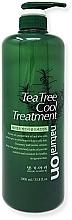 Düfte, Parfümerie und Kosmetik Kühlende und tonisierende Haarspülung mit grünem Tee, Pfefferminzöl, Aloe Vera und Keratin - Daeng Gi Meo Ri Naturalon Tea Tree Cool