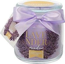 Düfte, Parfümerie und Kosmetik Duftkerze im Glas Lavendelwiese 10x11 cm 360 g - Artman Lavender Meadow
