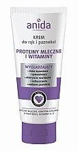 Düfte, Parfümerie und Kosmetik Hand- und Nagelcreme - Anida Pharmacy Milk Hand Cream