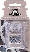 Düfte, Parfümerie und Kosmetik Auto-Lufterfrischer Seside Woods - Yankee Candle Car Jar Seside Woods