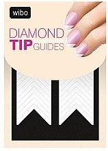 Düfte, Parfümerie und Kosmetik Nagelsticker für französische Maniküre - Wibo Diamond Manicure Tip Guides