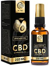 Düfte, Parfümerie und Kosmetik Natürliches Avocadoöl CBD 250 mg - Dr. T&J Bio Oil
