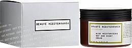 Düfte, Parfümerie und Kosmetik Feuchtigkeitsspendende Gesichtscreme für Tag und Nacht mit Aloe Vera - Beaute Mediterranea Aloe Moisturizing Day And Night Cream