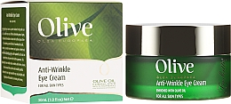 Düfte, Parfümerie und Kosmetik Anti-Falten Augencreme mit Olivenöl - Frulatte Olive Anti-Wrinkle Eye Cream
