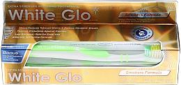 Düfte, Parfümerie und Kosmetik Zahnpflegeset - White Glo Smokers Formula Whitening Toothpaste (Zahnpasta 100ml + Zahnbürste)