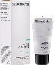Düfte, Parfümerie und Kosmetik Tiefenreinigende Gesichtsmaske für ölige und unreine Haut mit Kaolin und Silica - Academie Purifying Mask
