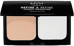 Düfte, Parfümerie und Kosmetik Puder-Foundation - NYX Professional Makeup Define Refine Powder Foundation