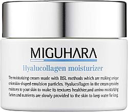 Düfte, Parfümerie und Kosmetik Intensiv feuchtigkeitsspendende Gesichtscreme mit Hyaluronsäure und Kollagen - Miguhara Hyalucollagen Moisturizer