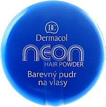 Düfte, Parfümerie und Kosmetik Haarfärbepuder - Dermacol Neon Hair Powder