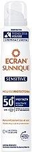 Düfte, Parfümerie und Kosmetik Sonnenschutzmousse für empfindliche Haut SPF 50+ - Ecran Sun Lemonoil Sensitive Mousse SPF50+