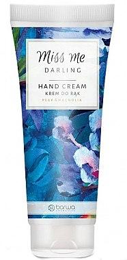 Handcreme mit Birne- und Magnolieduft - Barwa Miss Me Darling Pear & Magnolia