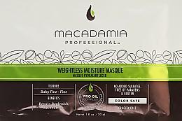 Düfte, Parfümerie und Kosmetik Feuchtigkeitsspendende Haarkur für dünnes Haar - Macadamia Professional Natural Oil Weightless Moisture Masque