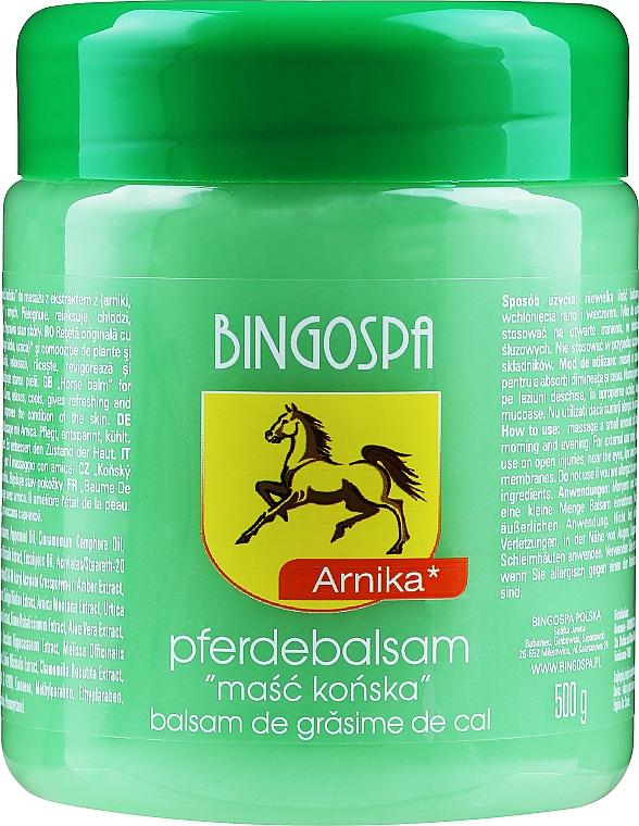 Pferdebalsam mit Arnika-Extrakt - BingoSpa Horse Ointment With Arnica