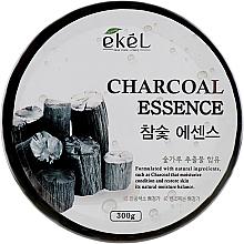 Düfte, Parfümerie und Kosmetik Beruhigendes und feuchtigkeitsspendendes Körper- und Gesichtsgel mit Holzkohle - Ekel Charcoal Essence Soothing Gel