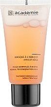 Düfte, Parfümerie und Kosmetik Gesichtsmaske mit Aprikose für normale und Mischhaut - Academie Visage Apricot Mask
