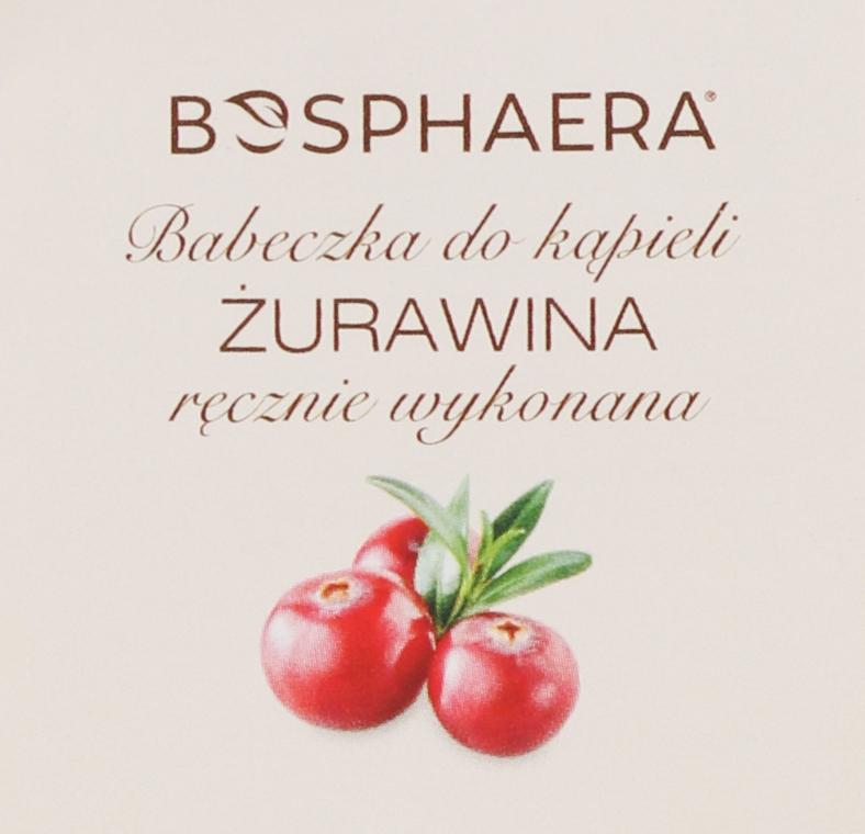 Badebombe Preiselbeeren - Bosphaera