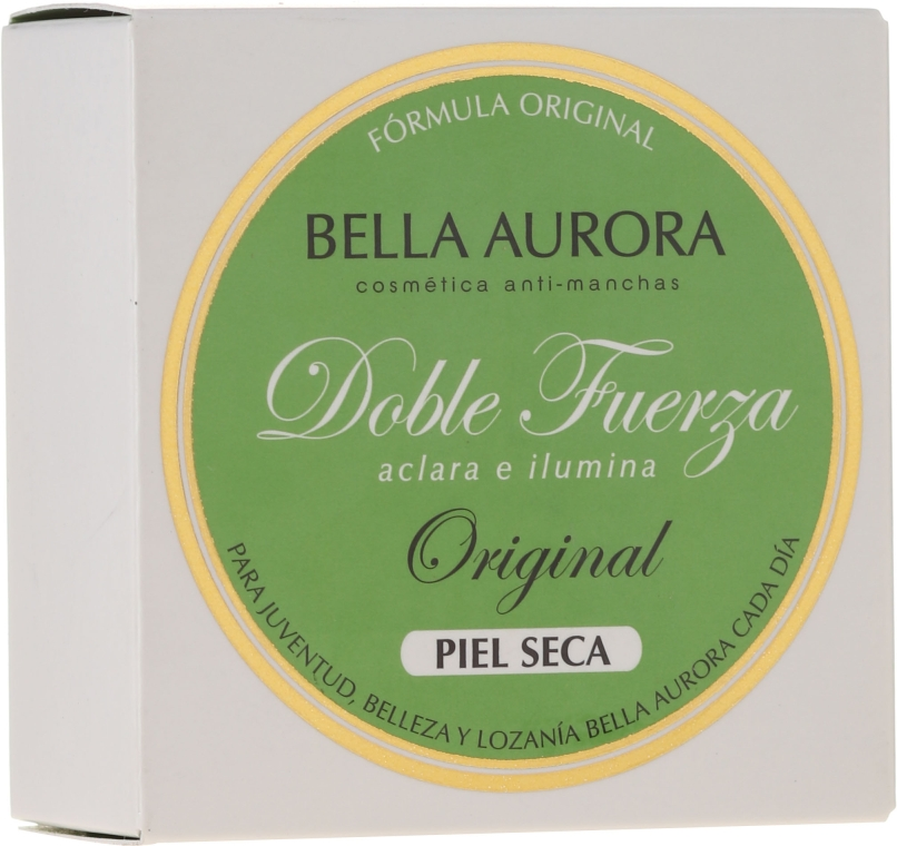 Aufhellende Gesichtscreme gegen Pigmentflecken - Bella Aurora Antispot & Whitening Cream