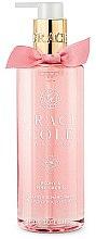 Düfte, Parfümerie und Kosmetik Handseife mit Pfingstrosen und rosa Orchideen - Grace Cole Peony & Pink Orchid Liquid Hand Soap