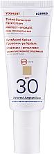 Düfte, Parfümerie und Kosmetik Feuchtigkeitsspendende getönte Sonneschutzcreme für empfindliche Gesichtshaut SPF 30 - Korres Yoghurt Tinted Sunscreen Face Cream SPF30