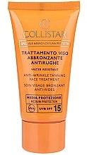 Anti-Falten Sonnenschutz-Creme - Collistar Speciale Abbronztura Perfetta Anti-Wrinkle Tanning Face Treatment SPF15 — Bild N2