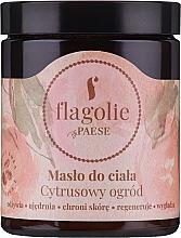 Düfte, Parfümerie und Kosmetik Körperbutter Zitrusgarten - Flagolie by Paese Citrus Garden