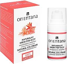 Düfte, Parfümerie und Kosmetik Feuchtigkeitsspendende und aufhellende Augencreme - Orientana Bio Eye Cream