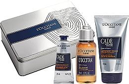 Düfte, Parfümerie und Kosmetik Gesichts- und Körperpflegeset - L'Occitane Cade Men Set (Gesichtsfluid 20ml + Duschgel 75g + Reinigungsgel 150ml)