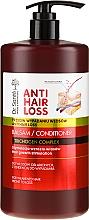 Düfte, Parfümerie und Kosmetik Haarwachstum stimulierende Haarspülung gegen Haarausfall mit Spender - Dr. Sante Anti Hair Loss Balm