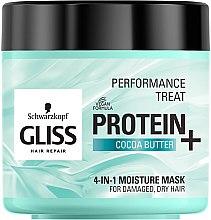 Düfte, Parfümerie und Kosmetik 4in1 Feuchtigkeitsspendende Maske für strapaziertes und trockenes Haar - Schwarzkopf Gliss Kur Performance Treat
