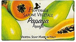 Düfte, Parfümerie und Kosmetik Naturseife Papaya - Florinda Papaya Natural Soap