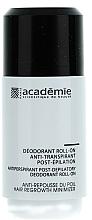 Düfte, Parfümerie und Kosmetik Deo Roll-on Antitranspirant nach der Haarentfernung - Academie Acad'Epil Deodorant Roll-on Specifique Post