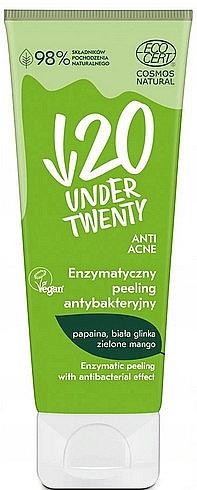 Veganes, enzymatisches und antibakterielles Gesichtspeeling - Under Twenty Anti Acne Antibacterial Enzymatic Peeling