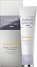 Düfte, Parfümerie und Kosmetik Zellerneuernde Anti-Aging Gesichtscreme mit Retinol und Vitamin E - Isabelle Lancray Retinol Cream Vitamin E