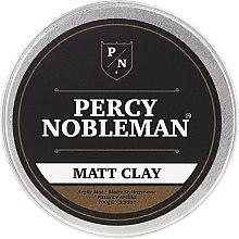 Düfte, Parfümerie und Kosmetik Haarstyling-Tonerde mit Matt-Effekt - Percy Nobleman Matt Clay