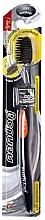 Düfte, Parfümerie und Kosmetik Antibakterielle Zahnbürste mit Aktikohle weich orange - Twin Lotus Bamboo Charcoal Toothbrush
