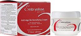Düfte, Parfümerie und Kosmetik Anti-Aging Gesichtscreme für mehr Elastizität - Embryolisse Anti-age Redensifiante Cream