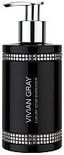 Düfte, Parfümerie und Kosmetik Flüssigseife - Vivian Gray Black Crystals Soap