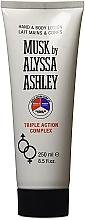 Alyssa Ashley Musk Triple Action - Hand- und Körperlotion — Bild N1