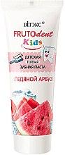 Düfte, Parfümerie und Kosmetik Kinderzahnpasta ohne Fluorid mit Wassermelonengeschmack - Vitex Frutodent Kids