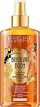 Düfte, Parfümerie und Kosmetik Feuchtigkeitsspendendes Gesichts- und Körperöl mit Bräunungseffekt - Eveline Cosmetics Brazilian Mist Face & Body