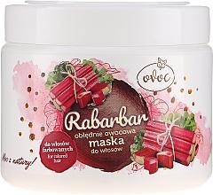 Düfte, Parfümerie und Kosmetik Haarmaske mit Extrakt aus Rhabarber, Obst und Sheabutter - Ovoc Rabarbar Mask