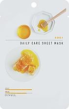 Düfte, Parfümerie und Kosmetik Verjüngende und pflegende Tuchmaske für das Gesicht mit Honigextrakt - Eunyu Daily Care Sheet Mask Honey