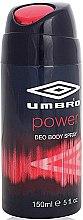 Düfte, Parfümerie und Kosmetik Umbro Power - Deodorant